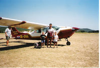 9A-DNA @ LDPN - This is the 9A-DNA just before take-off from the Beautiful island Unjie LDPN (Summer 2001) - by G van Gils