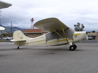 N2791E @ RHV - 1946 Aeronca 7AC between rainstorms at Reid-Hillview Airport, San Jose, CA