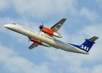 LN-RDD @ KRK - takeoff - by Pawel Kleszcz