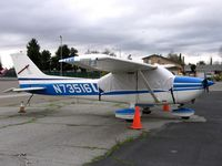 N73516 @ RHV - 1976 Cessna 172M between rainstorms at Reid-Hillview Airport, San Jose, CA - by Steve Nation