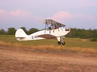 D-MNVF @ POREC - The D-MNVF just after take-off from the former microlight airfield at Porec in Croatia. - by G van Gils