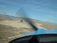 N4182Y @ WJF - In Flight - by David Vogl