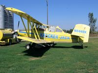 N8448K - KRACKER JACK (doing business as Ag-Aviation) 1982 Grumman-Schweizer G-164B Turbo Ag-Cat conversion rigged as sprayer near Hamilton City, CA