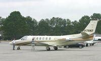 N78MD @ DWH - Cessna 550 @ DWH - by Thomas L Hughes