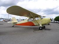 N2805E @ RHV - Amelia Reid Aviation 1946 Aeronca 7AC at Reid-Hillview Airport, San Jose, CA