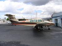 N111BV @ RHV - Christiansen Aviation 1980 Beech 76 Duchess minus props at Reid-Hillview Airport, San Jose, CA - by Steve Nation