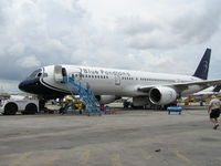 N714P @ KMIA - Test flight at KMIA after C check and paint - by John J. Boling