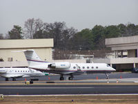 N212K @ PDK - AT&T Corporate parked at Signature Air - by Michael Martin
