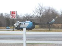 N6331M - Chopper landed on location of an in-progress drug bust in Franklin, KY. - by Lance Manion