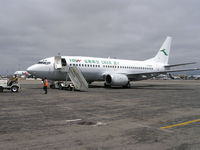 B-3000 @ KOAK - Boeing 737-300 Ferry to China - by John J. Boling