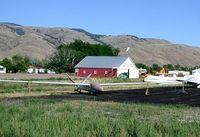 N990 @ U62 - Tied down at the Mackay, Idaho airport - by Wayne Paul