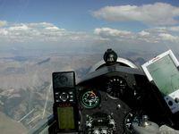 N990 @ U62 - Flying along Idaho's Lost River Mountain Range - by Wayne Paul