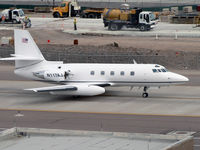 N117AJ @ PHX - My all-time favorite business jet! Jetstars forever! - by John Meneely