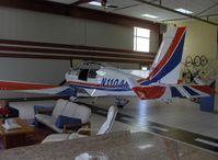 N110AM @ SZP - 1996 Moravan Zlin 242L, Lycoming AEIO-360-B 200 Hp, fully aerobatic - by Doug Robertson