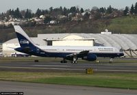 N756AF @ KBFI - Returning to KBFI from Detroit with Seattle Seahawks aboard - by Matt Cawby