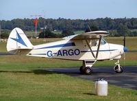 G-ARGO @ EGBO - Piper PA-22 108 Colt (Halfpenny Green) - by Robert Beaver