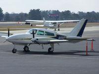 N111EA @ PDK - Tied down @ Mercury Air Center - by Michael Martin