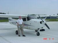 N860SA @ PHN - Cessna 8-6-0-Sierra-Alpha at Port Huron, MI - by Skipper Steffens