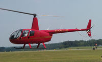 N140JM @ DAN - Red Chopper - by Richard T Davis