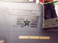 89-0487 @ GSB - Mission Marks, and kill credit for the ONLY air to air with a Laser Guided Bomb - by Paul Perry