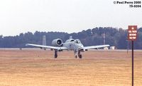 79-0204 @ GSB - Taxiing around at Seymour Johnson - by Paul Perry