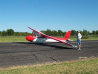 N2060T @ H71 - Tom Harris getting ready for his solo flight - by Randy Teel