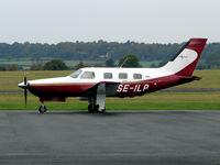 SE-ILP @ EGBO - Piper PA-46-350P Malibu Mirage - by Robert Beaver