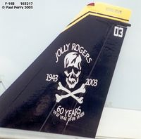 163217 @ NKT - Not exactly nose art, but the Jolly Rogers' Anniversary Scheme is reason enough - by Paul Perry