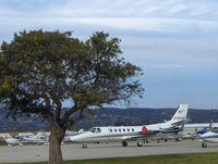 N141AB @ CMA - 2002 Cessna 550 CITATION BRAVO, Two P&W (Canada) PW530A Turbojets - by Doug Robertson