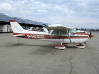 N46302 @ CCB - 1974 Cessna 172M at Upland, CA - by Steve Nation
