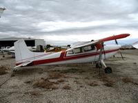 N1591F @ L65 - 1966 Cessna 185E at Perris Valley, CA