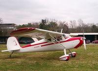 N3669V @ TN98 - 1948 Cessna 140 C90 - by Rex Berry