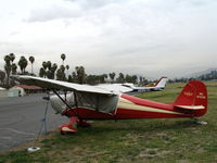 N9155E @ RIR - 1946 Aeronca 11AC as NC9155E at Flabob Airport (Riverside, CA) just before the storm!
