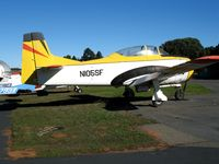 N105SF @ 2O3 - Pacific union College North American T-28B (BuAer 138341)at Parrett Field (Angwin), CA - by Steve Nation