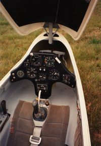 N116X @ 14N - Cockpit View - by Randy Teel