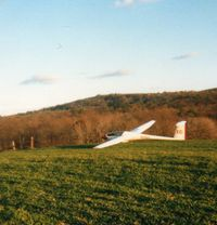 N116X - I landed out in the hills north of Harrisburg, PA - by Randy Teel