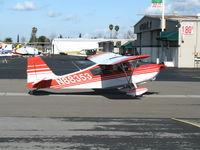 N88353 @ RHV - Amelia Reid Aviation 1975 Bellanca 7KCAB taxis at Reid-Hillview Airport (San Jose), CA