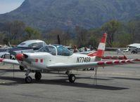 N7746B @ SZP - 1992 Ffa Flugzeugwerke Altenrhein AS-202/18A4 BRAVO, Lycoming AEIO-360 - by Doug Robertson