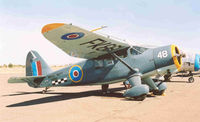 N1141 @ VCB - AT-19 painted in WWII Royal Navy colors. - by Bill Larkins