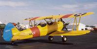 N1344V @ SAC - Painted as Navy N2S-5. - by Bill Larkins