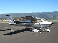 N1171B @ UKI - Sharp 1960 Cessna 172A at Ukiah, CA - by Steve Nation