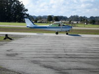 N7420G @ WVI - 1970 Cessna 172 taxying at Watsonville, CA - by Steve Nation