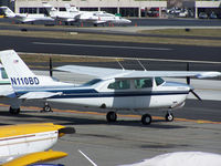 N110BD @ PDK - Tied down @ Epps - by Michael Martin