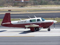 N1141K @ PDK - Taxing to Runway 20R - by Michael Martin