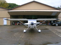 N320WT @ 12V - The hangar at Ona WV - by Brian Alley (builder)