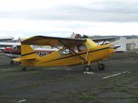 N1675G @ HWD - 1972 Champion 7KCAB at stormy Hayward Air Terminal, CA