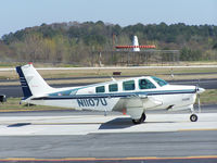 N1107U @ PDK - Taxing to Runway 2R - by Michael Martin