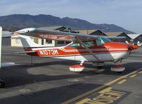 N1073M @ SZP - 1975 Cessna 182P SKYLANE II, Continental O-470-S 230 Hp - by Doug Robertson