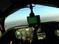 N147EB @ SEP - In flight SEP to GDJ w/ avionics upgrades - by Marc Thompson