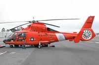 6556 @ SMO - U.S. Coast Guard 6556 (Aerospatiale HH-65B) based in Los Angeles, on display at Santa Monica Airport (KSMO). - by Dean Heald